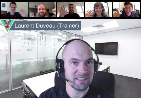 Vue Training Online Virtual Class